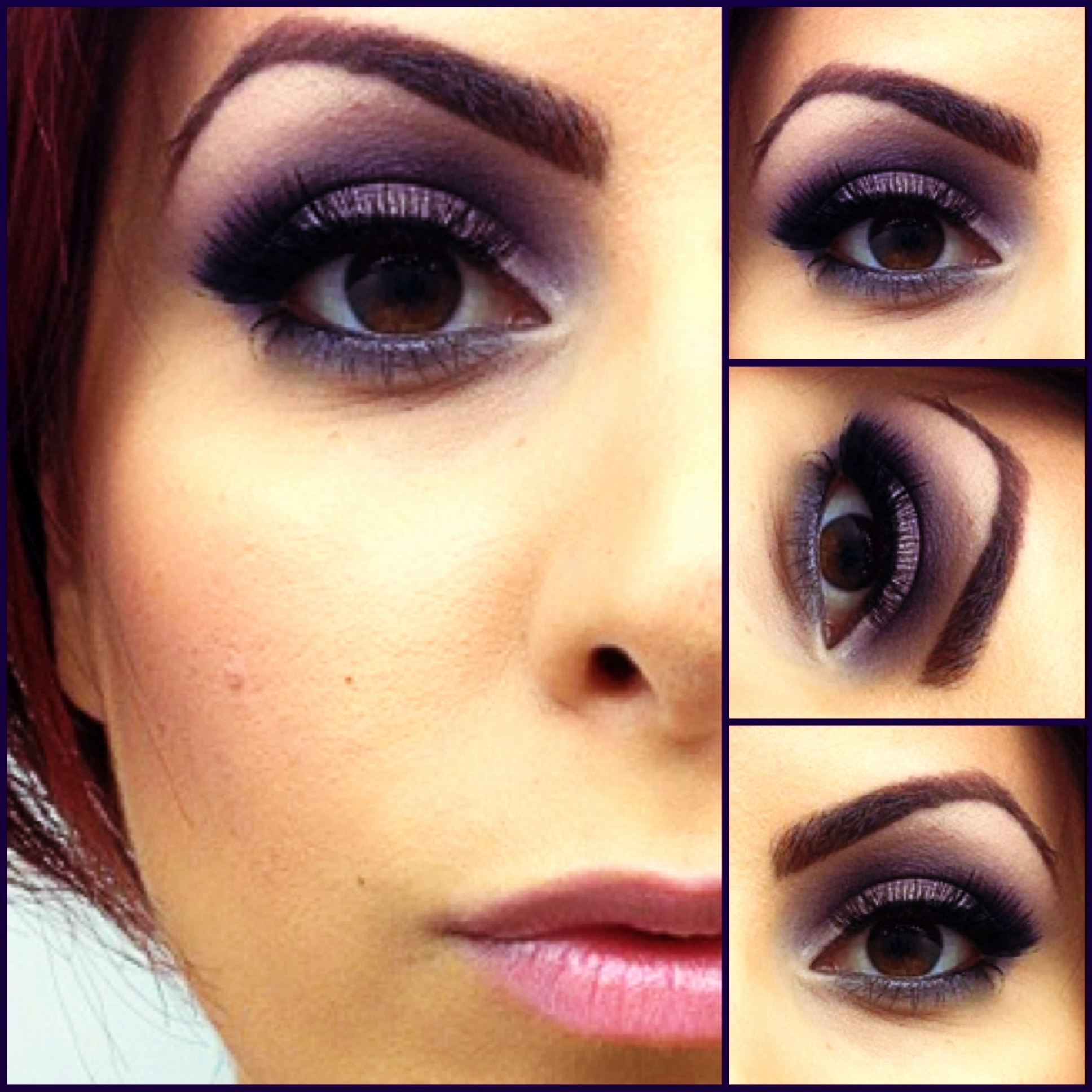 9 best images about Wedding Make up on Pinterest | Purple ...