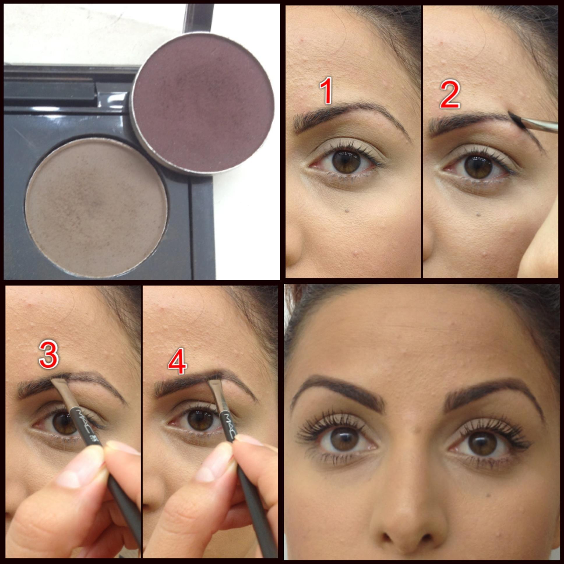 Mac Makeup Tutorial Eyebrows | Saubhaya Makeup