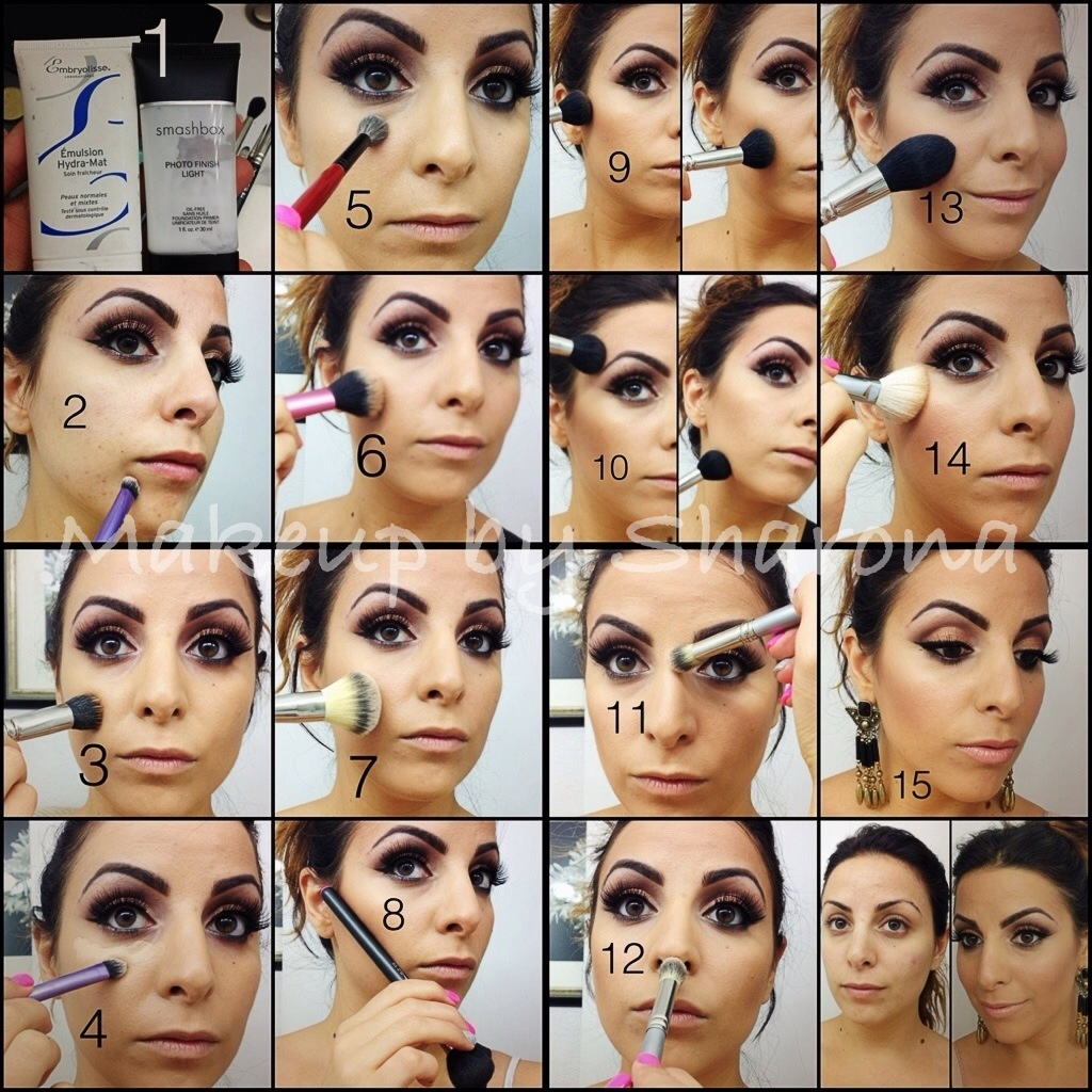 Face makeup tutorial makeup by sharona face makeup tutorial baditri Image collections
