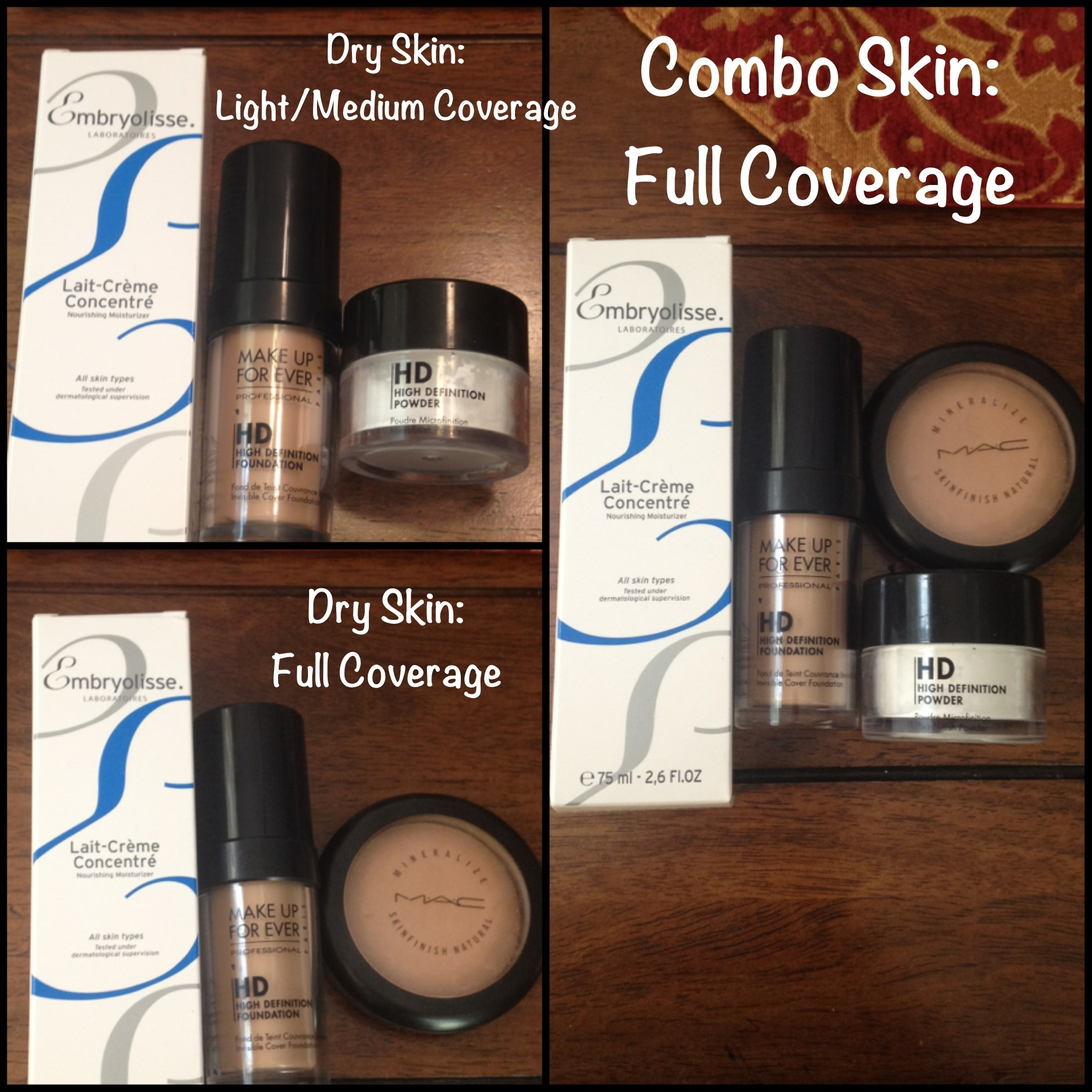 Best Products For Dry Combo Skin Makeup By Sharona
